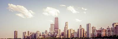 Chicago Panorama Photo Art Print