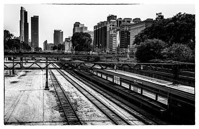 Chicago Rail Art Print by James Howe
