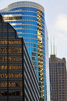Photograph - Chicago Reflections 2 by Theo OConnor