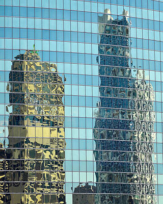 Photograph - Chicago Reflections by Jon Exley