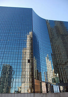Photograph - Chicago Reflections by Richard Bryce and Family