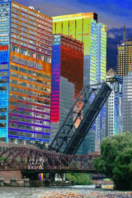 Chicago River Architecture Original by Paul Szakacs