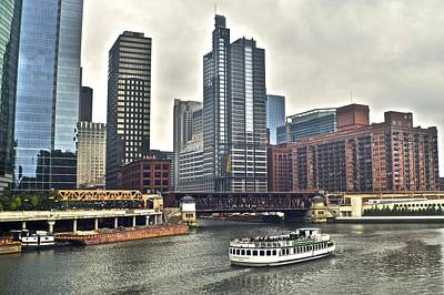 Chicago River Art Print by Frozen in Time Fine Art Photography