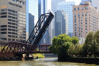 Chicago Photograph - Chicago River Scene, Chicago, Illinois by Amanda Hall / Robertharding