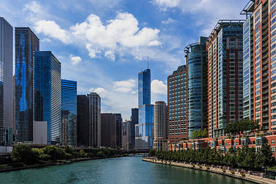 Photograph - Chicago Riverfront by Kathleen Scanlan