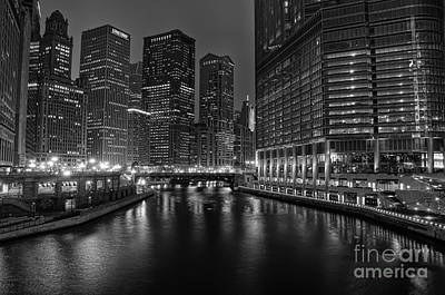 Chicago Riverwalk Art Print