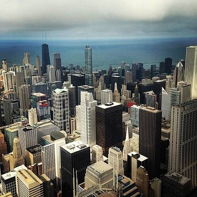 Skyline Wall Art - Photograph - Chicago, Second To None by Mike Maher
