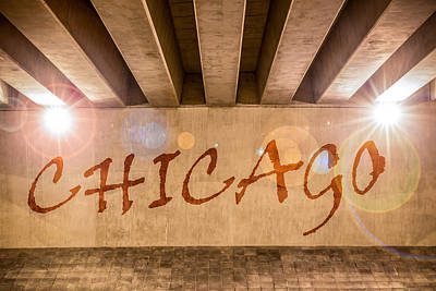 Photograph - Chicago by Semmick Photo