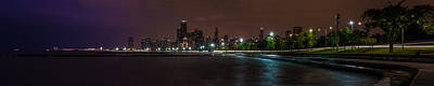 Photograph - Chicago Skyline 50mm 1 by Randy Scherkenbach