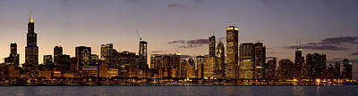 Photograph - Chicago Skyline At Twilight by Joe Doherty