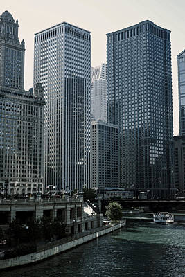 Photograph - Chicago Skyline by Christopher Rees