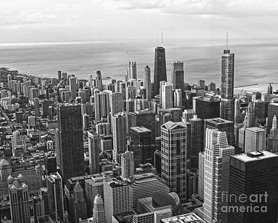 Photograph - Chicago Skyline by Emily Kelley
