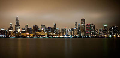 Photograph - Chicago Skyline - Fog Rolling In by Anthony Doudt