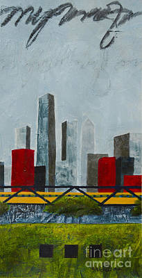 Chicago Skyline II Art Print