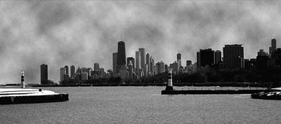 Photograph - Chicago Skyline by Kathryn McBride