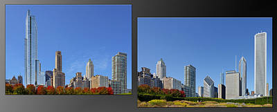 Grant Photograph - Chicago Skyline Of Superstructures by Christine Till