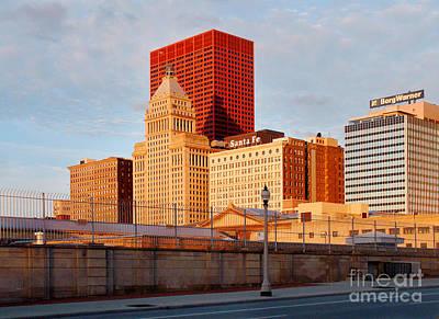 Borg Digital Art - Chicago South Michigan Avenue Skyline by Glenn Morimoto