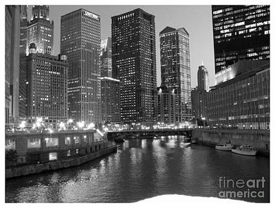 Chicago Sparkle Art Print by Jesse Forrister
