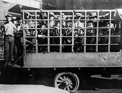 Photograph - Chicago Street Car Strike by Underwood Archives
