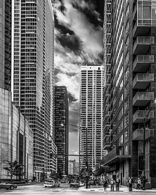 Photograph - Chicago Streets by Erwin Spinner