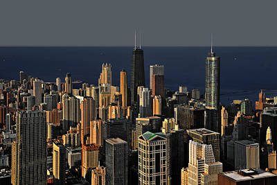 From Photograph - Chicago - That Famous Skyline by Christine Till