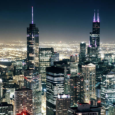 Photograph - Chicago - The Windy City by Christian Senger