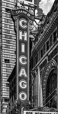 Photograph - Chicago Theatre by Erwin Spinner