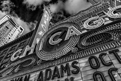 Photograph - Chicago Theatre II by Erwin Spinner