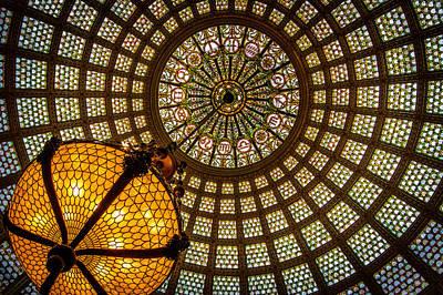 Chicago Tiffany Dome Art Print