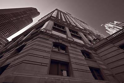 Chicago Towers Bw Original