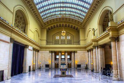 Chicago Union Station Art Print by Twenty Two North Photography