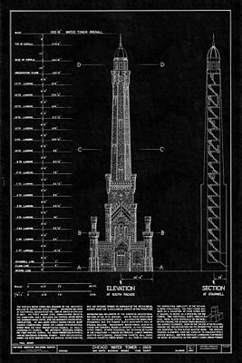 Photograph - Chicago Water Tower 2 by Andrew Fare