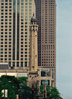Photograph - Chicago Water Tower by Peg Urban