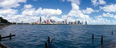 Adler Wall Art - Photograph - Chicago Waterfront, Adler Planetarium by Panoramic Images