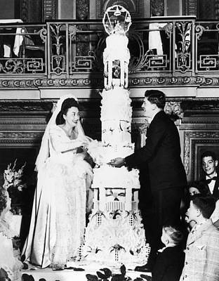 Carousel Collection Photograph - Chicago: Wedding Cake, 1947 by Granger