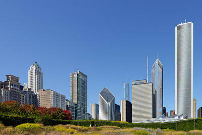 North America Photograph - Chicago - What A Beautiful City by Christine Till