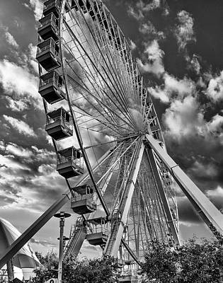 Photograph - Chicago Wheel by Erwin Spinner