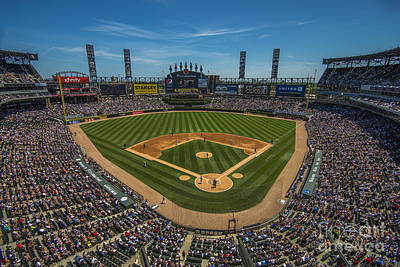 Photograph - Chicago White Sox 8677 by David Haskett