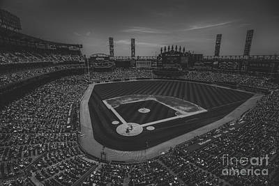 Photograph - Chicago White Sox 8693 Bw by David Haskett II