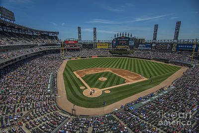 Photograph - Chicago White Sox 8693 by David Haskett