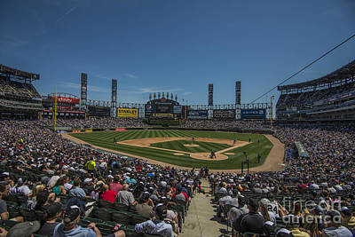 Photograph - Chicago White Sox Low by David Haskett