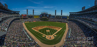 Photograph - Chicago White Sox Panoramic by David Haskett II