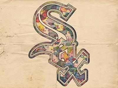 White Sox Digital Art - Chicago White Sox Poster by Florian Rodarte