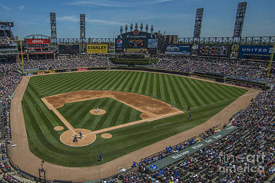 Photograph - Chicago White Sox Upper 1 by David Haskett