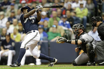 Photograph - Chicago White Sox V Milwaukee Brewers by Mike Mcginnis