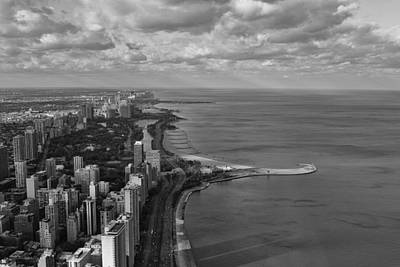 Chicago's Lake Front Art Print by Jerome Lynch