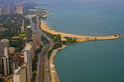Photograph - Chicago's Lake Front by Sheryl Thomas