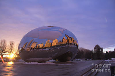 City Photograph - Chicago.x by Spencer McNeil