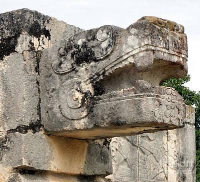 Photograph - Chichen Itza Ruins 10 by Rachel Munoz Striggow