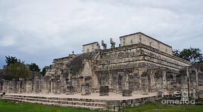 Photograph - Chichen Itza Ruins 17 by Rachel Munoz Striggow
